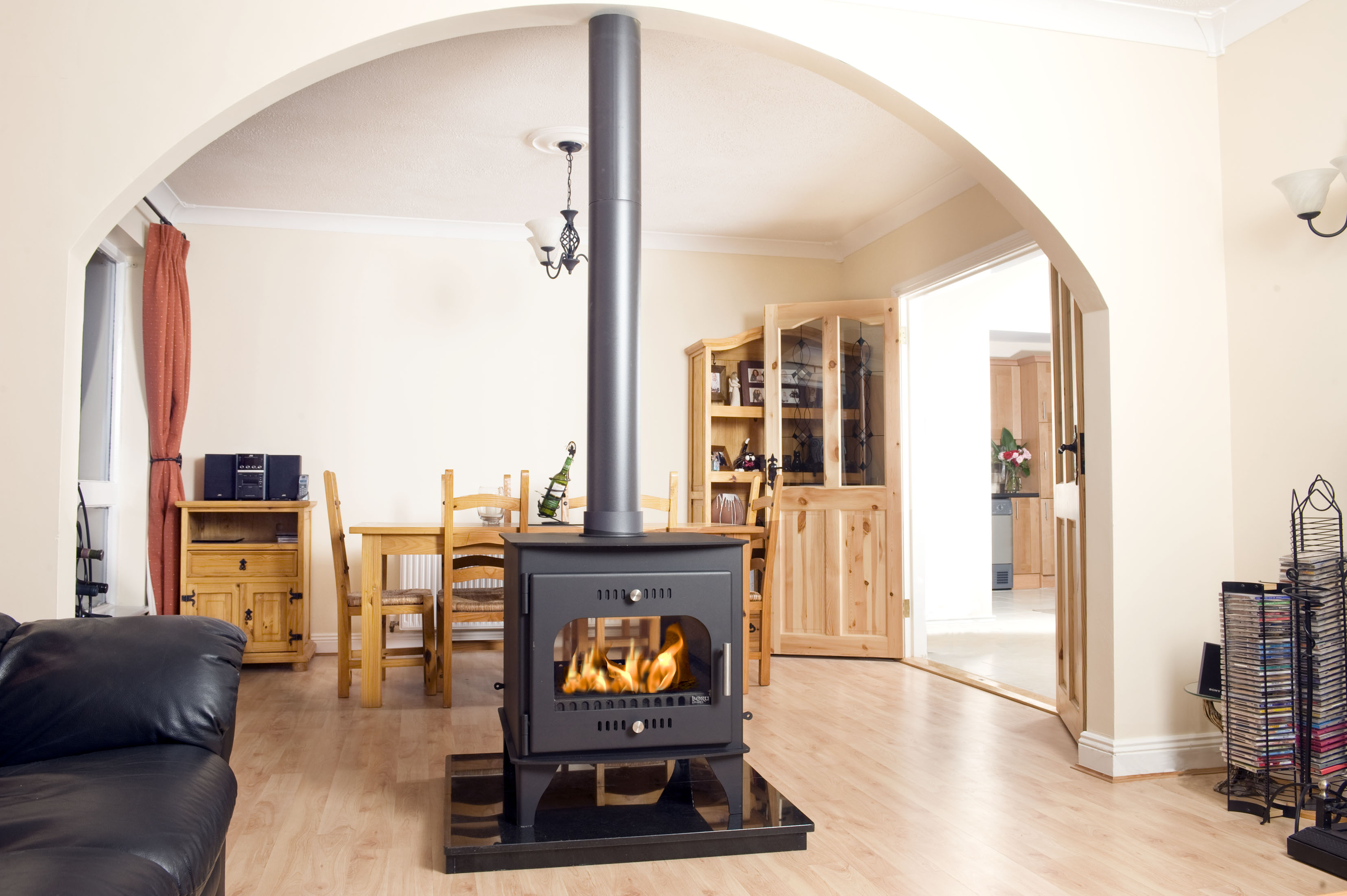 Boru Carraig Mor Double Sided Dry Stove Ryan Stoves