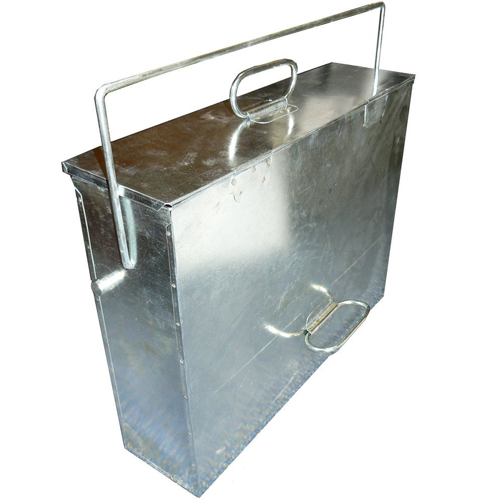 Galvanised Ash Box Ryan Stoves