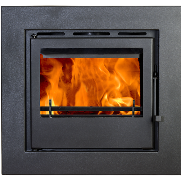 Double Sided Wood Burning Stove Insert Fireplaces