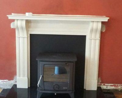 Henley Druid 12kw  60 Dublin Corbel fireplace